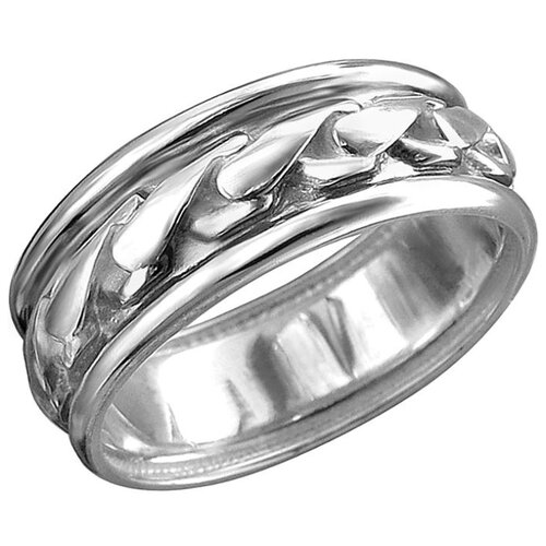 Эстет Кольцо из чернёного серебра 01К0513041Ч, размер 18