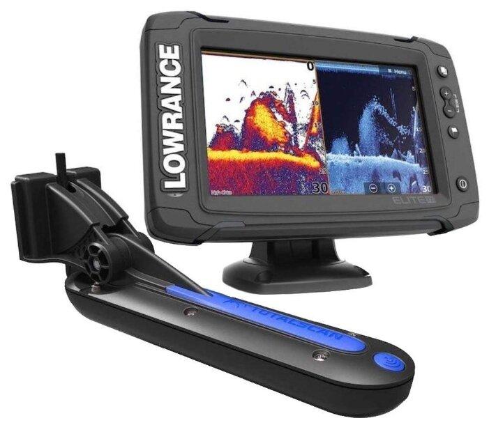 Эхолот Lowrance Elite-7 Ti with TotalScan Transducer /000-12419-001/