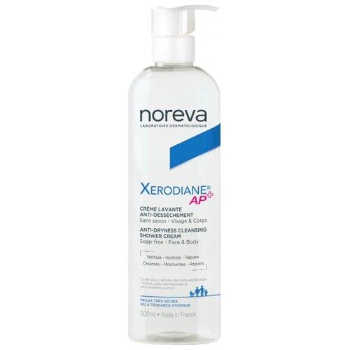 Noreva laboratories очищающий пенящийся крем Xerodiane AP+, 500 мл