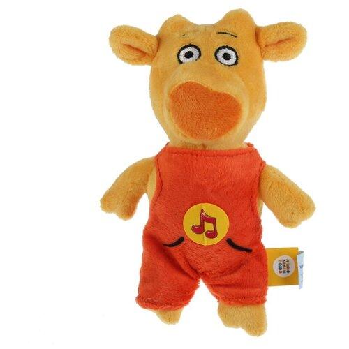 Купить Мягкая игрушка Мульти-Пульти Оранжевая корова Теленок Бо 17 см, озвученная, Мягкие игрушки
