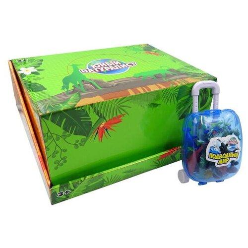 Купить Фигурки ABtoys Юный натуралист Морские животные в чемоданчике PT-01222/1, Игровые наборы и фигурки