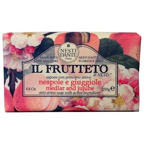 Фото - Мыло кусковое Nesti Dante Il Frutteto Medlar and Jujube, 250 г nesti dante fig and almond milk shower gel
