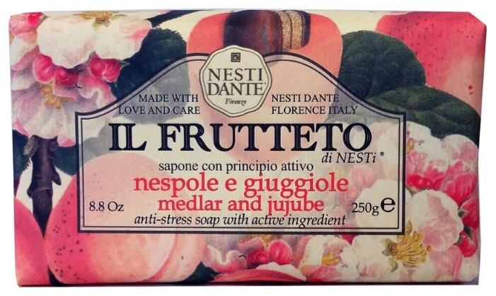 Мыло кусковое Nesti Dante Il Frutteto Medlar