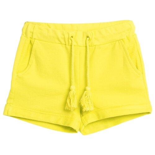 Шорты COCCODRILLO BASIC GIRL размер 104, желтый шорты coccodrillo coccodrillo mp002xb00bxq