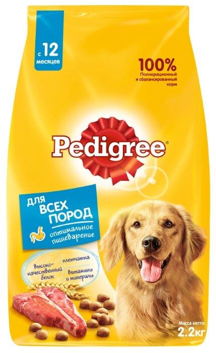 Корм для собак Pedigree для здоровья кожи