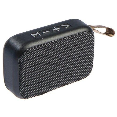Портативная акустика Luazon LAB-39 серый портативная акустика rock muse серый