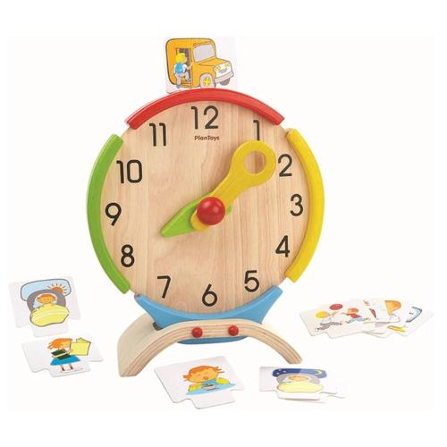 Купить Часы PlanToys 5122, Обучающие материалы и авторские методики