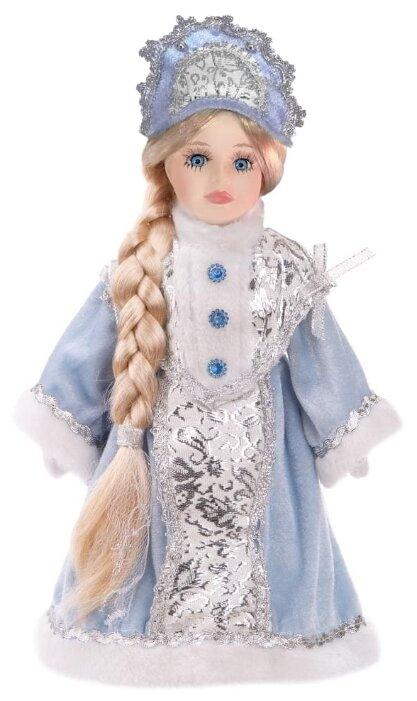 Фигурка декоративная Феникс-Презент «Снегурочка Злата», голубая, 31 см