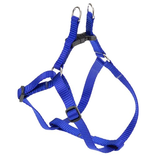 Шлейка Ferplast Easy XS, обхват шеи 33-46 см, синий