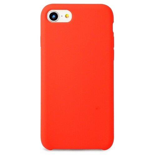 Чехол Pastila Silicone Case для Apple iPhone 7/iPhone 8 оранжевый чехол для apple iphone 8 7 silicone case red
