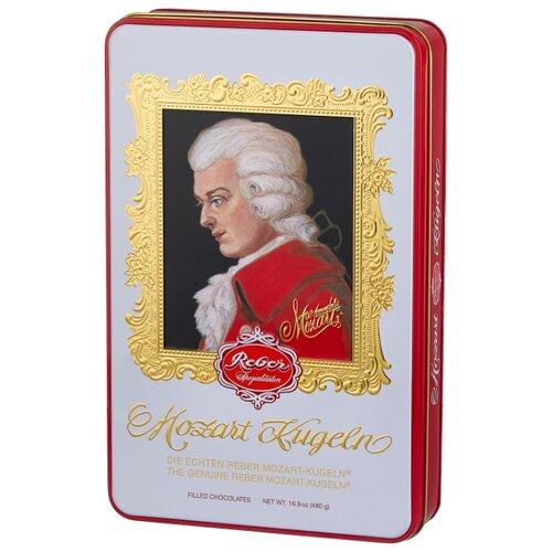 набор конфет reber constanze mozart kugeln 240 г Набор конфет Reber Mozart Kugeln Luxury Tin 480 г