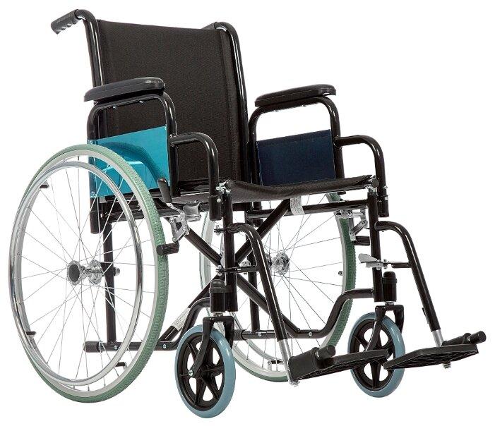 Кресло-коляска механическое Ortonica Base 130, ширина сиденья: 405 мм
