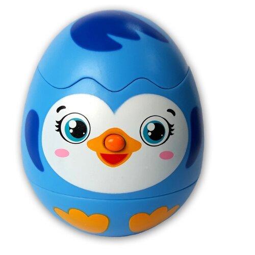 Купить Развивающая игрушка Азбукварик Яйцо-сюрприз Пингвинчик голубой, Развивающие игрушки
