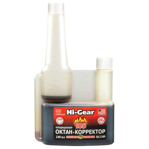 Hi-Gear HG3309 Октан-корректор и кондиционер с SMT2 0.24 л супероктан корректор hi gear hg 3306