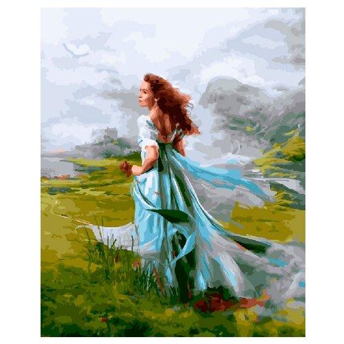 Купить ВанГогВоМне Картина по номерам Женский образ , 40х50 (ZX 20936), Картины по номерам и контурам