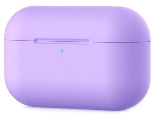 Купить Силиконовый чехол для наушников Airpods Pro 3/LiZi лаванда по низкой цене с доставкой из Яндекс.Маркета