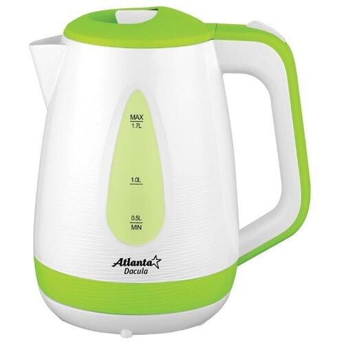 Фото - Чайник Atlanta ATH-2376, зеленый чайник электрический atlanta ath 2461 red