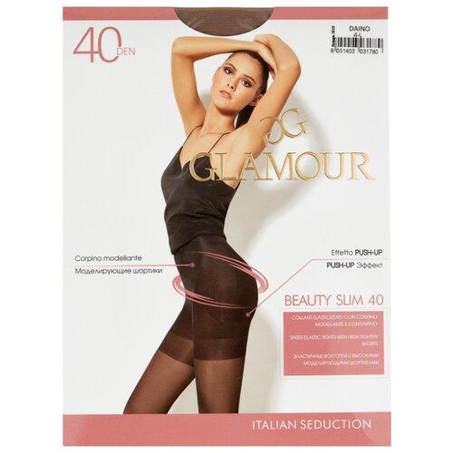 Колготки Glamour Beauty Slim 40 den, размер 4-L, daino (бежевый) колготки glamour beauty shape 40 den размер 4 l daino бежевый