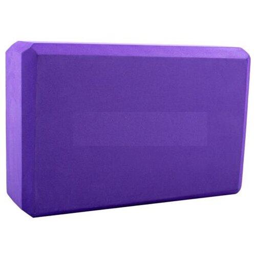 Блок для йоги BRADEX SF 0407 / SF 0408 / SF 0409 фиолетовый