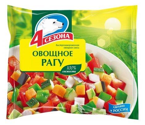 4 Сезона Рагу овощное быстрозамороженное 400 г