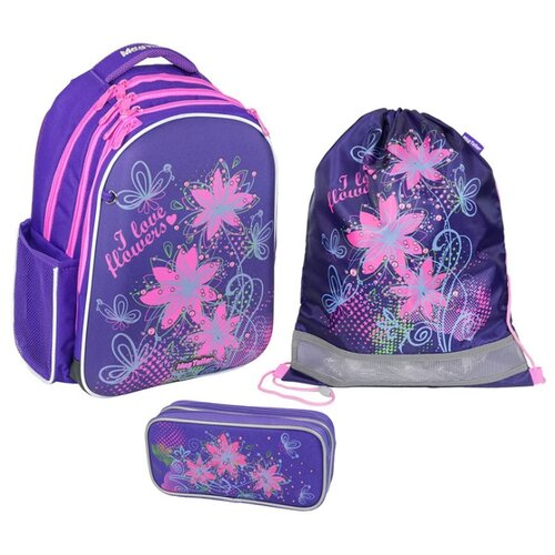 Mag Taller Рюкзак Stoody Flowers с наполнением, фиолетовый mag taller рюкзак stoody racing черный