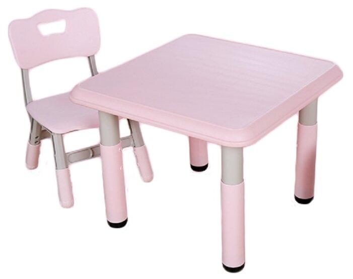 Набор детской мебели Floopsi L-ZY07 розовый