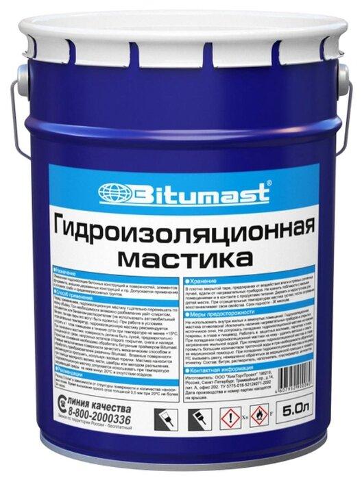 Мастика Bitumast 158485 5 л