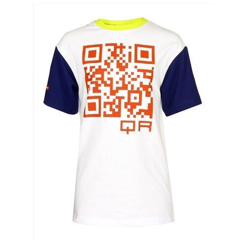 Купить Футболка Nota Bene размер 140, белый, Футболки и майки