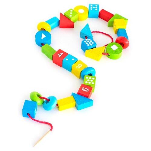 Купить Шнуровка Томик Бусы (1-89) разноцветный, Шнуровки
