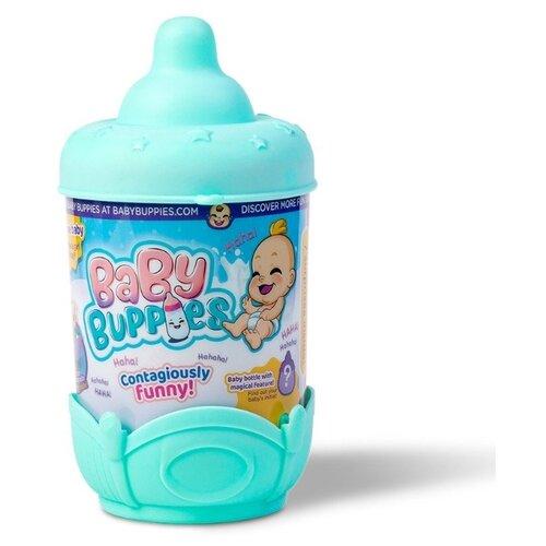 Фото - Интерактивный пупс Baby Buppies Малыш в колыбельке, 8 см, Turquoise/astBP002D2 интерактивный пупс baby doll