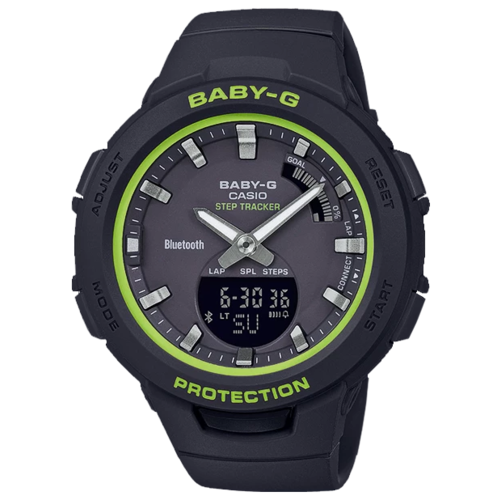 Наручные часы CASIO BSA-B100SC-1A женские часы casio bsa b100ac 5aer