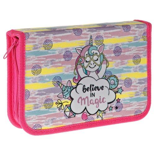 Купить ArtSpace Пенал Magic (ПТ1_29079) розовый, Пеналы