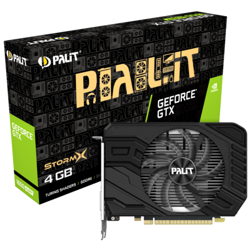 Купить Видеокарта Palit GeForce GTX 1650 SUPER 1530MHz PCI-E 3.0 4096MB 12000MHz 128 bit DVI HDMI DisplayPort HDCP StormX Retail