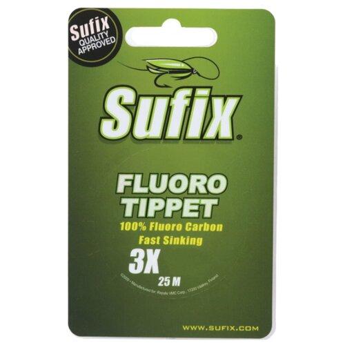 Флюорокарбоновая леска Sufix Fluoro Tippet прозрачный 0.318 мм 25 м 5.4 кг
