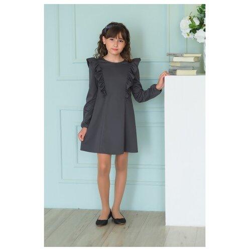 Купить Платье Ladetto 1С3 размер 30(2)-122, серый, Платья и сарафаны