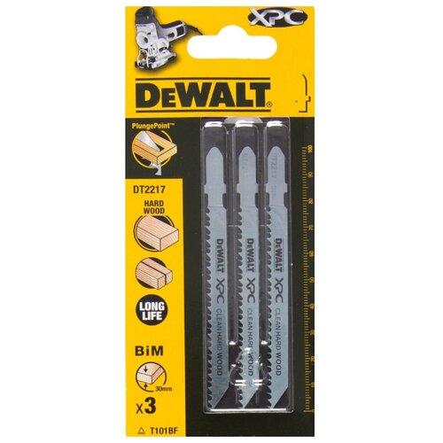Набор пилок для лобзика DeWALT DT 2217 3 шт.