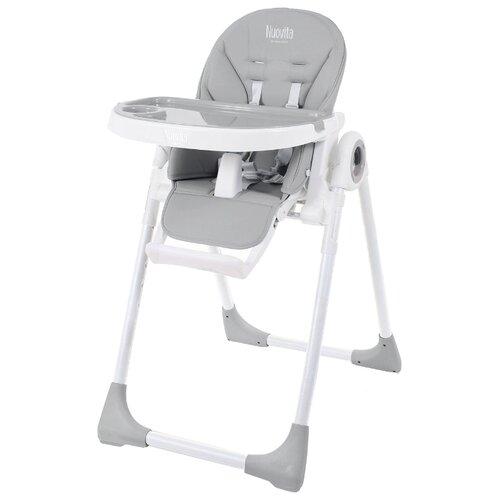 Стульчик для кормления Nuovita Lembo серый/белый стульчик для кормления babys piggy розовый