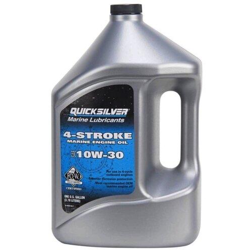 Минеральное моторное масло Quicksilver 4-Stroke Marine 10W-30 4 л недорого