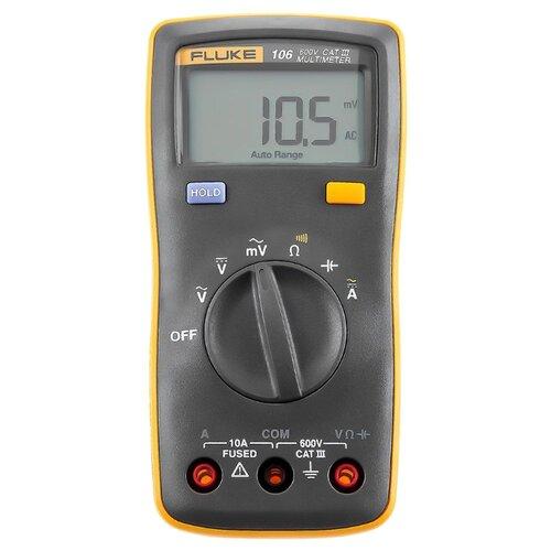 Мультиметр цифровой FLUKE 106 мультиметр мегомметр fluke 1587t