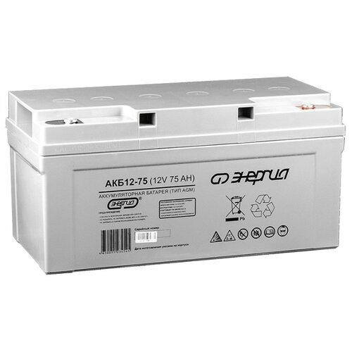 Аккумуляторная батарея Энергия Е0201-0021 75 А·ч