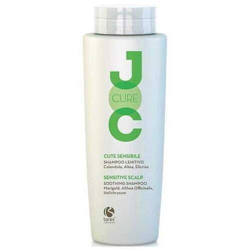 Купить Barex шампунь JOC Cure Soothing успокаивающий с календулой, алтеем и бессмертником, 250 мл