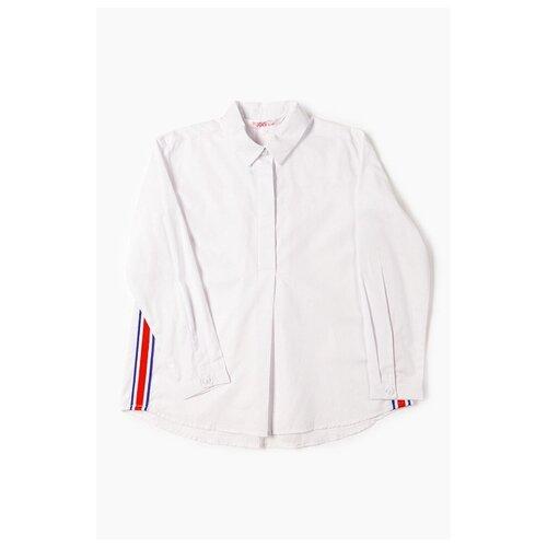 Рубашка MODIS размер 134, белый шорты джинсовые modis modis mo044ebfclm4