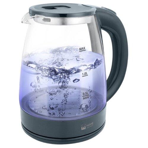 Чайник Home Element HE-KT-185, серый мрамор чайник home element he kt 174 сталь