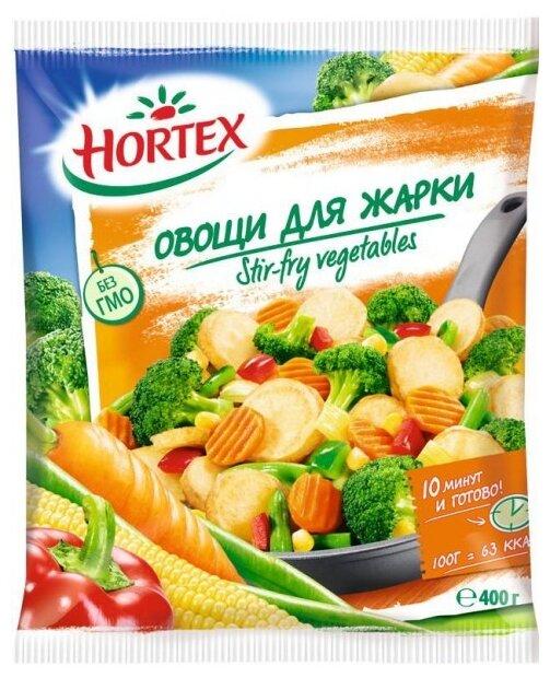 HORTEX Овощи для жарки быстрозамороженные 400 г