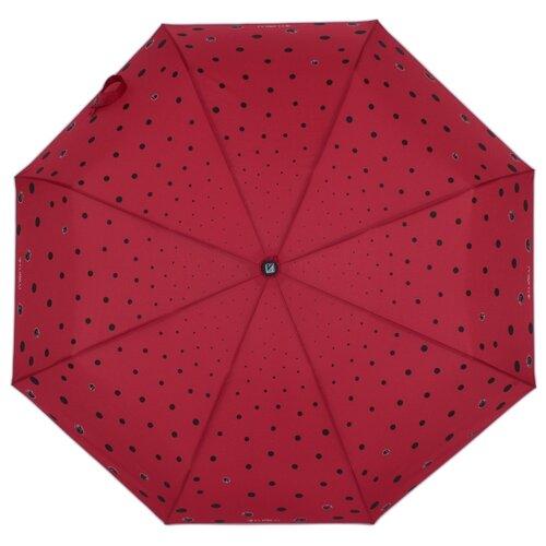 Зонт автомат FLIORAJ Кошки и точки красный