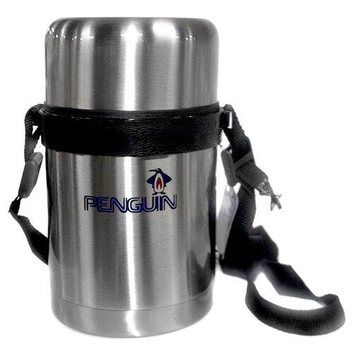 Термос для еды Penguin BK-100А, 0.8 л серебристый