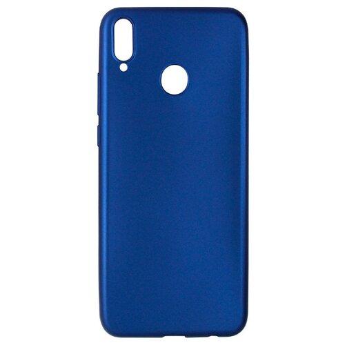 Чехол Akami Soft-touch для Honor 8X (силикон) темно-синий