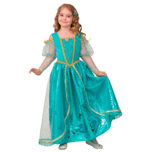 Купить Костюм Батик Принцесса Ариэль (1926), зеленый, размер 134, Карнавальные костюмы