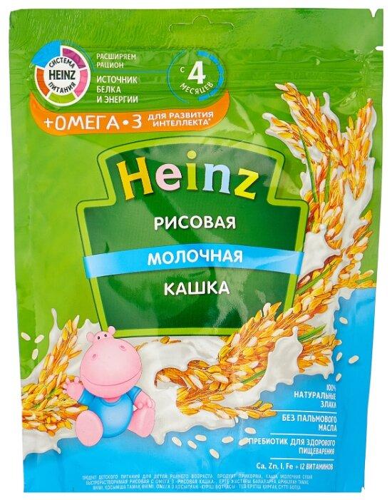 Каша Heinz молочная рисовая (с 4 месяцев) 200 г