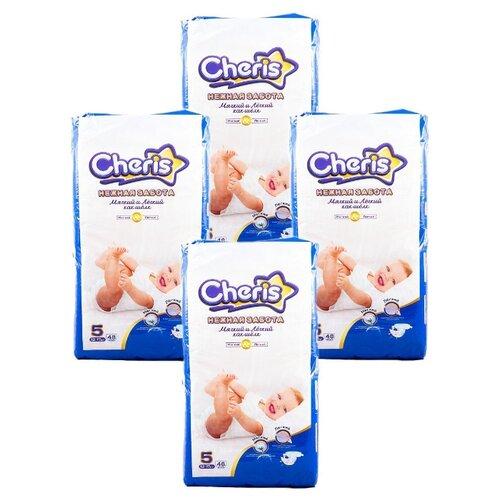 Купить Cheris подгузники Нежная забота 5 (12-17 кг) 192 шт., Подгузники